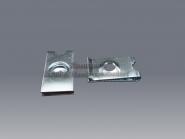 Schnappmuttern 2,9 mm Klemmmutter verzinkt