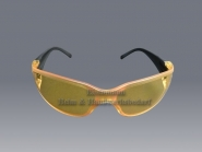 Arbeitsschutzbrille gelb