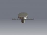 Möbelknopf 25 oder 32 mm Edelstahl matt