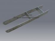 Stützenfuß Typ H Breit 91 mm