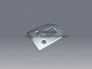 Rahmenöse 33 x 24 mm verz. Schrankaufhänger