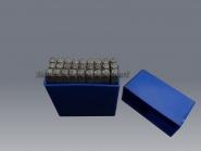 Schlagbuchstaben A-Z 3 mm / 4 mm oder 8 mm