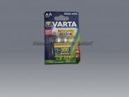 Varta AA 1,2 V Batterie aufladbar Batterien rechargeable