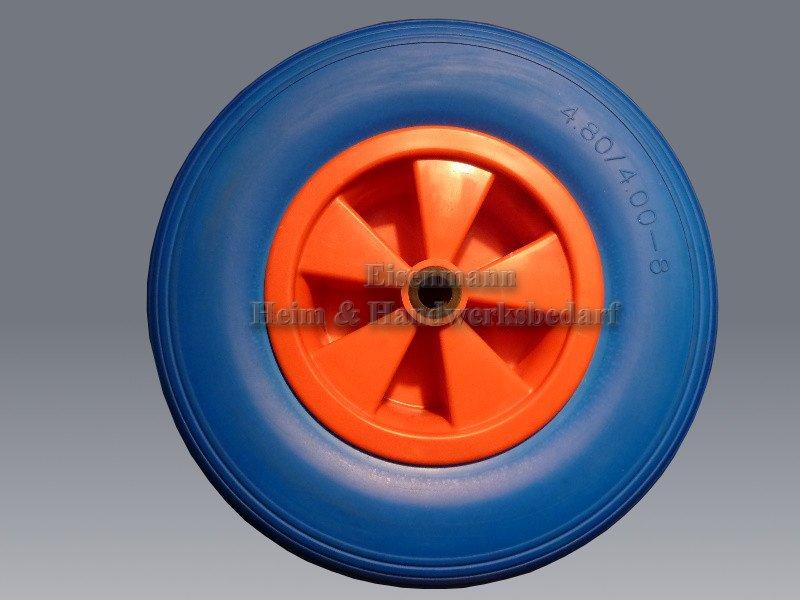 Schubkarrenrad 400 mm Kunststofffelge pannensicher