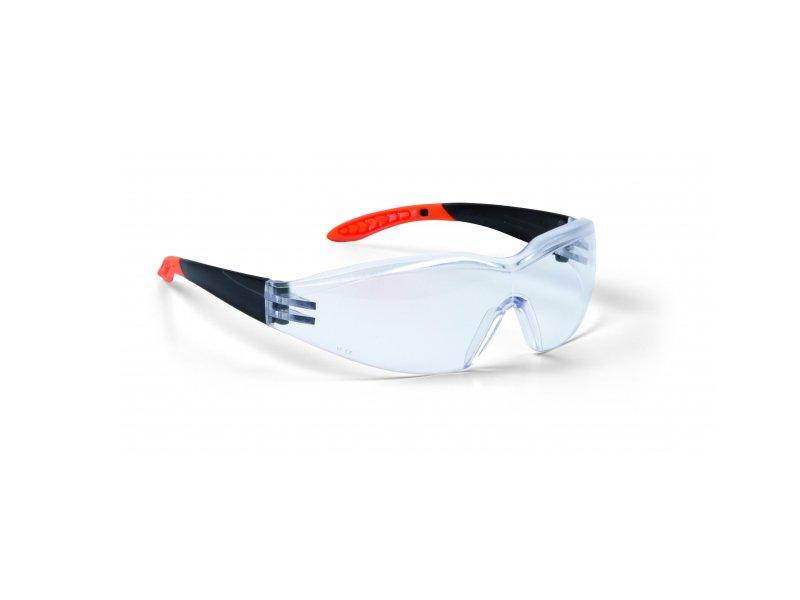 Arbeitsschutzbrille klar weiche Bügelenden 1 Stück